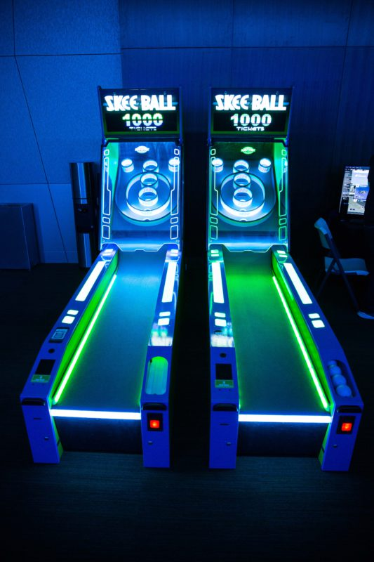 glow in the dark arcade games