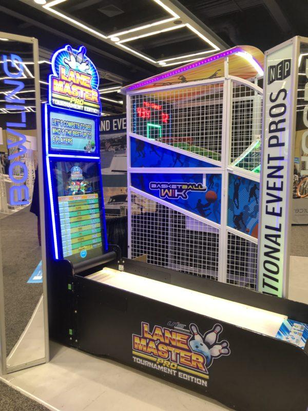 Lane Master Pro bowling arcade game
