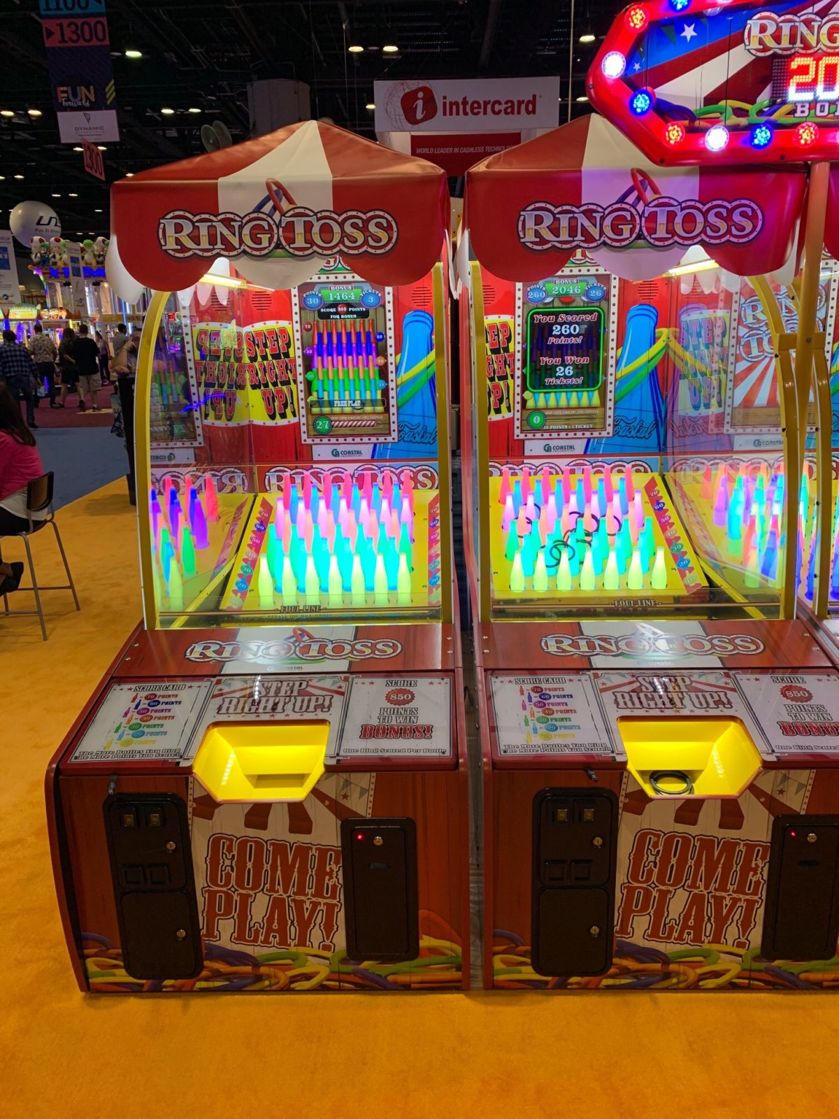 ring toss arcade game rental