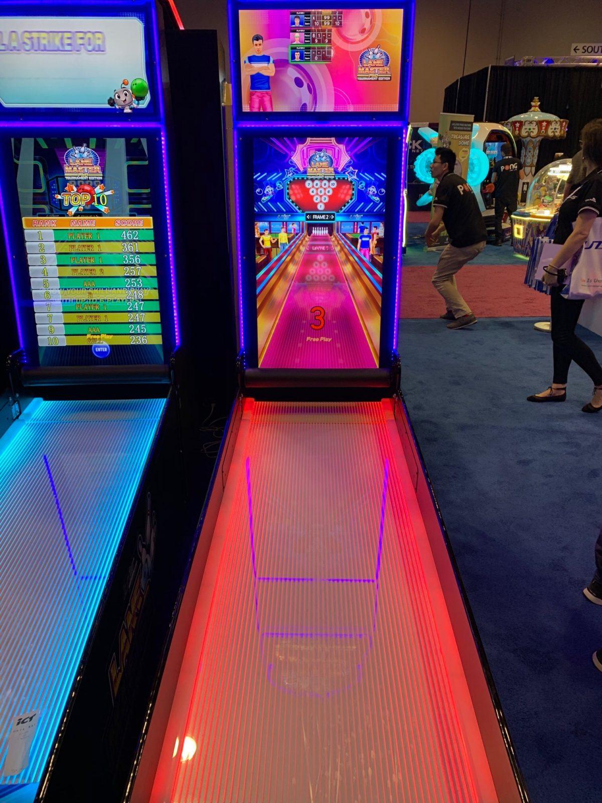 bowling arcade game