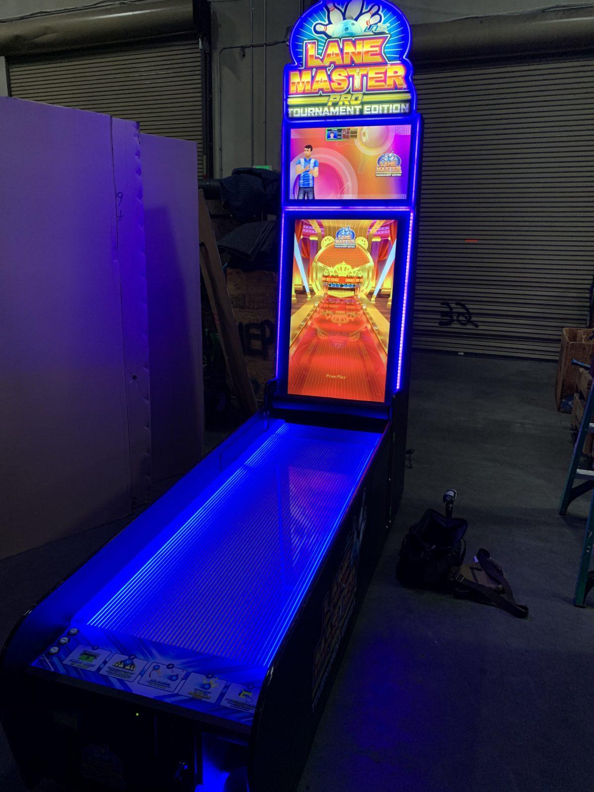 bowling arcade rental