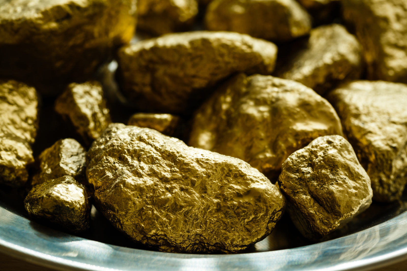 Gold Rush Gold nuggets
