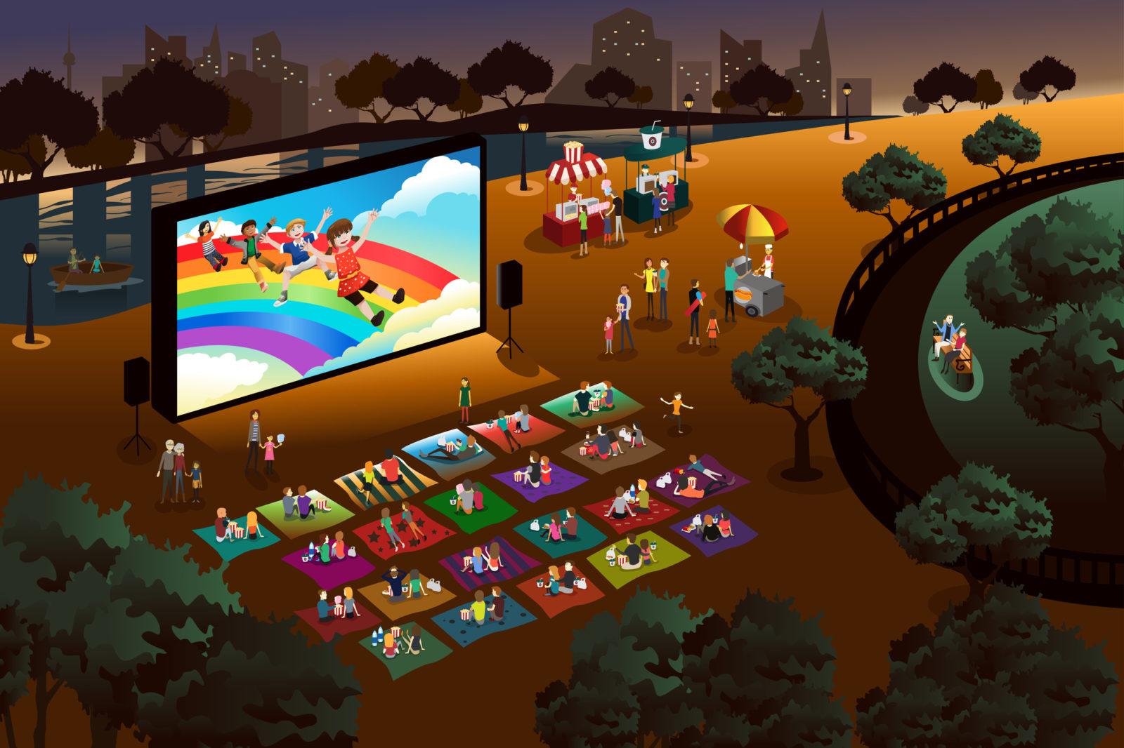 Outdoor Movie Animation