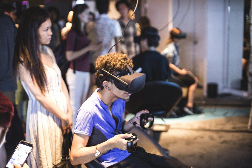 VR gaming lounge rentals