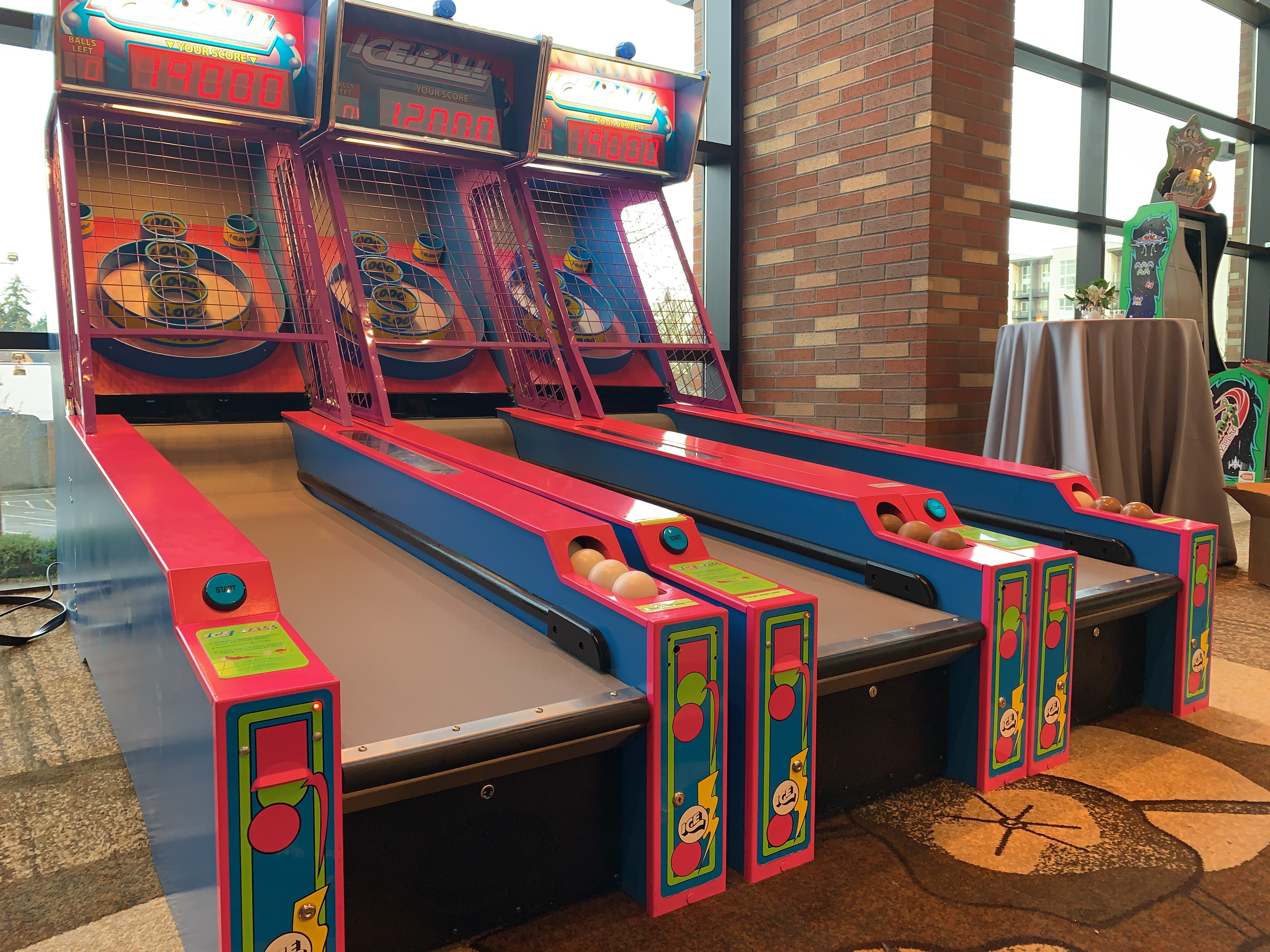 Ice Ball Skee Ball — National Event Pros