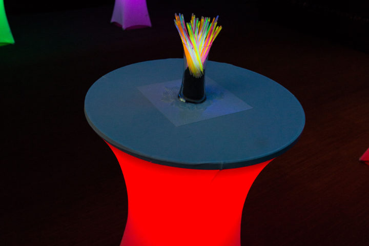 Light Up Tables