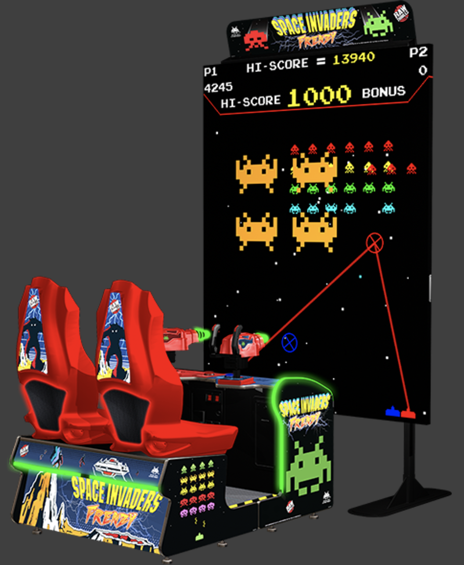 giant space invaders rental