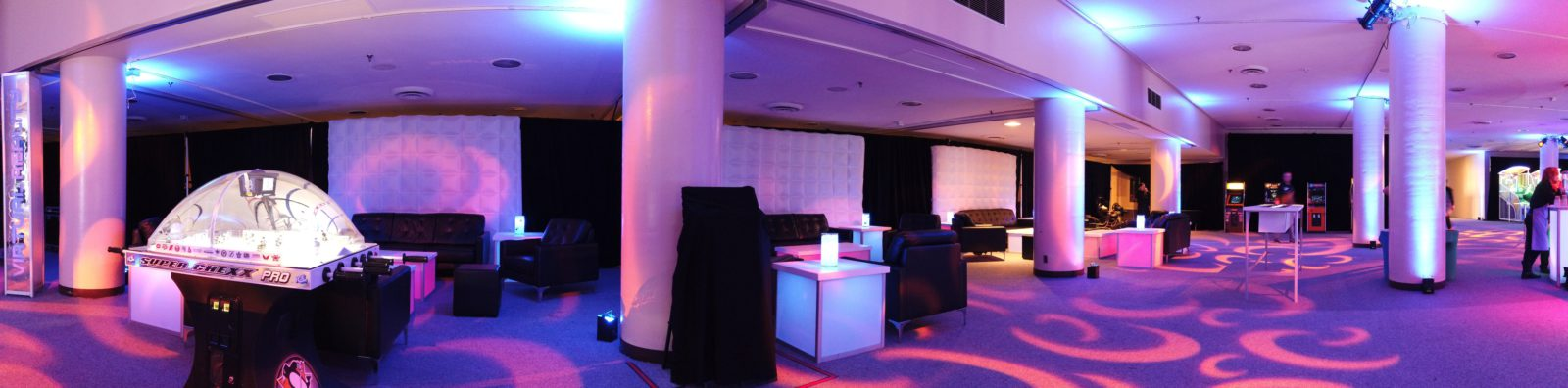 led gaming lounge services