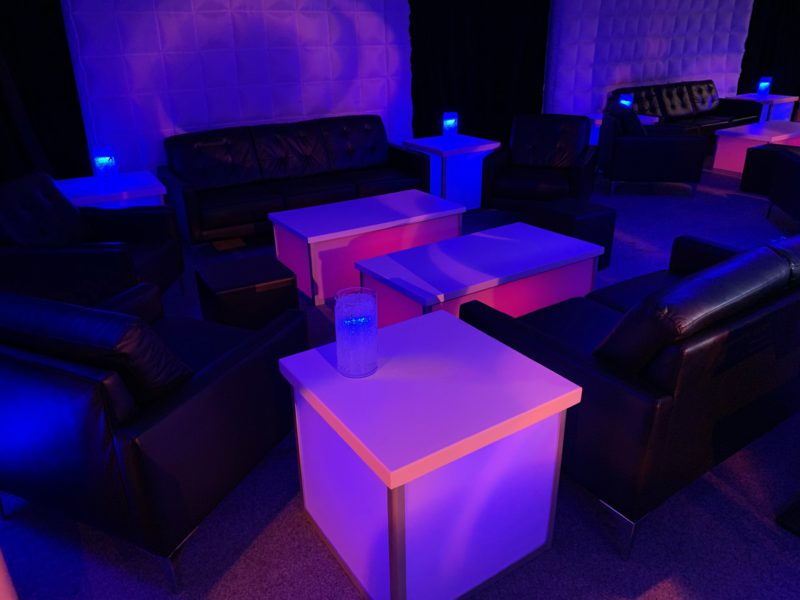 LED Gaming Lounge Experience