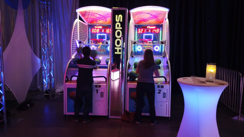 LED Gaming Lounge