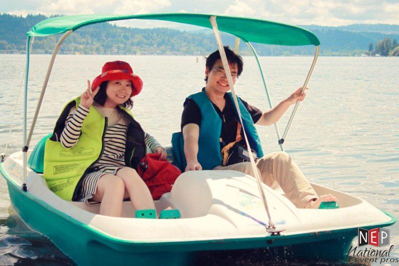 boating at vasa park