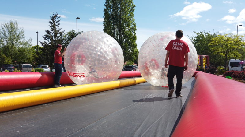 Events with Giant Outdoor Games