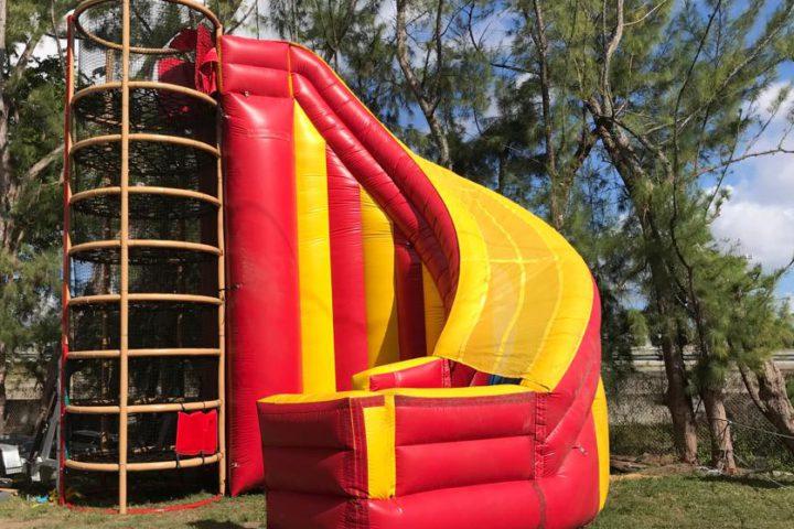 Spider Mountain Tower Climb & Slide