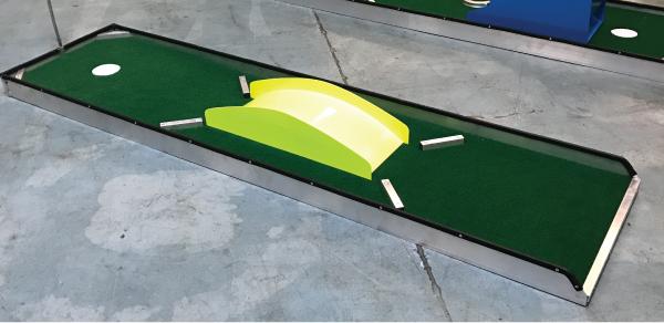 Indoor Glow In The Dark Mini Golf