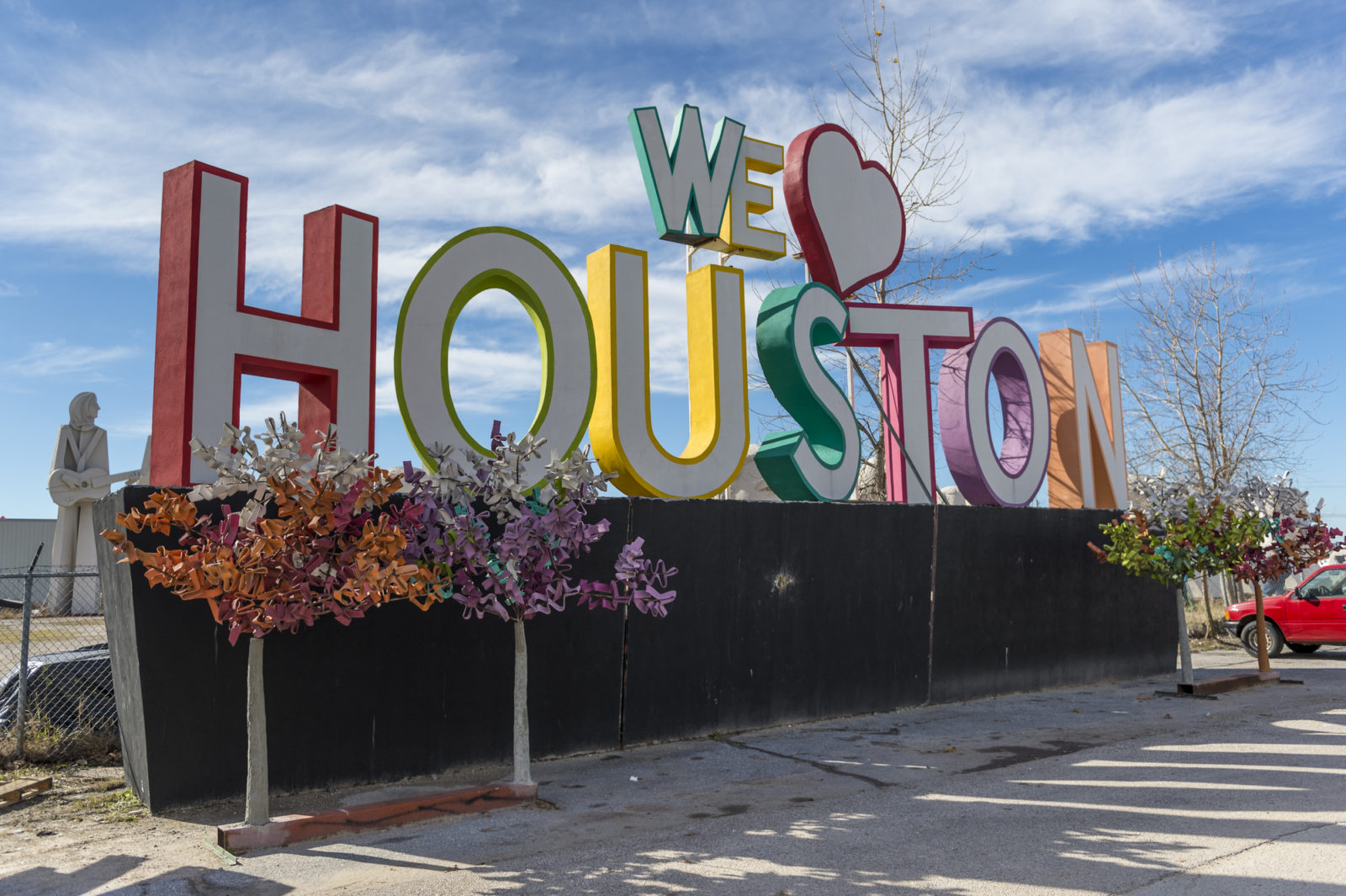 Houston Food Trucks and Landmarks