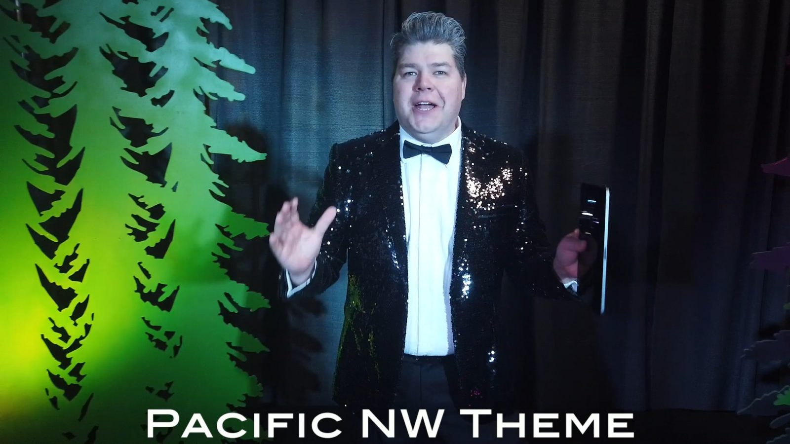Pacific NW theme on Virtual Game Show